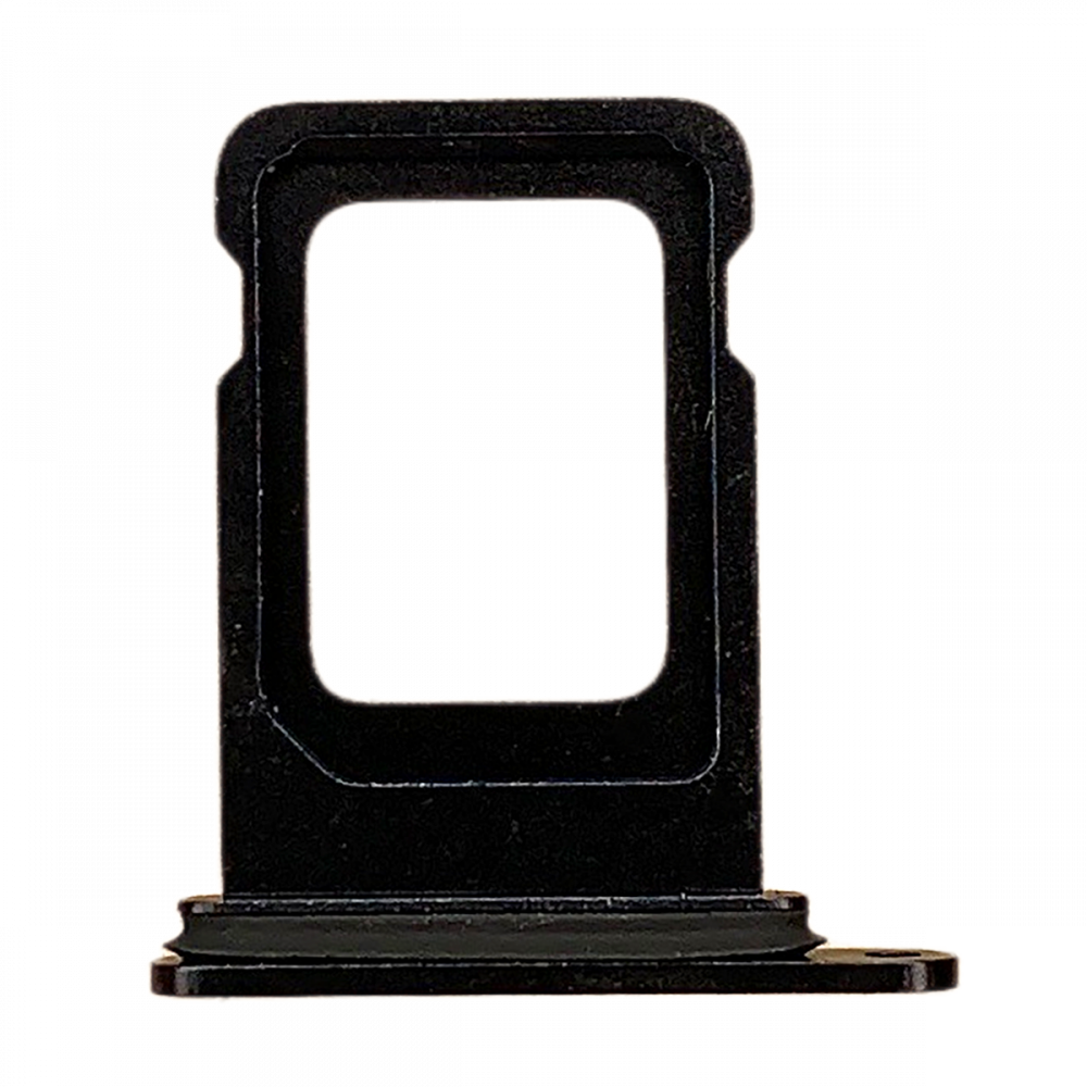 iPhone 12 Sim Card Tray (Single) - Black