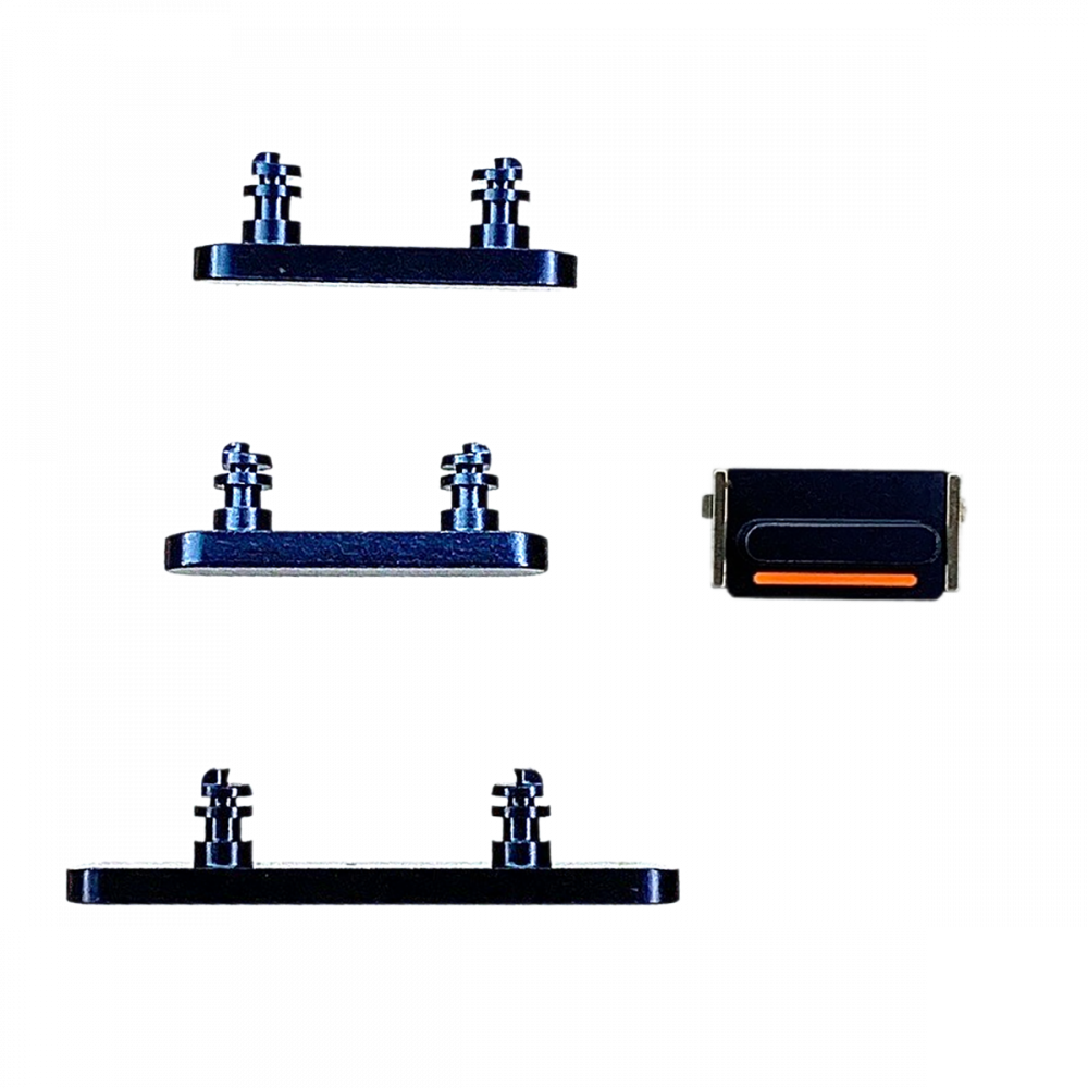 iPhone 12 mini Button Set (Power, Volume, Mute) - Blue