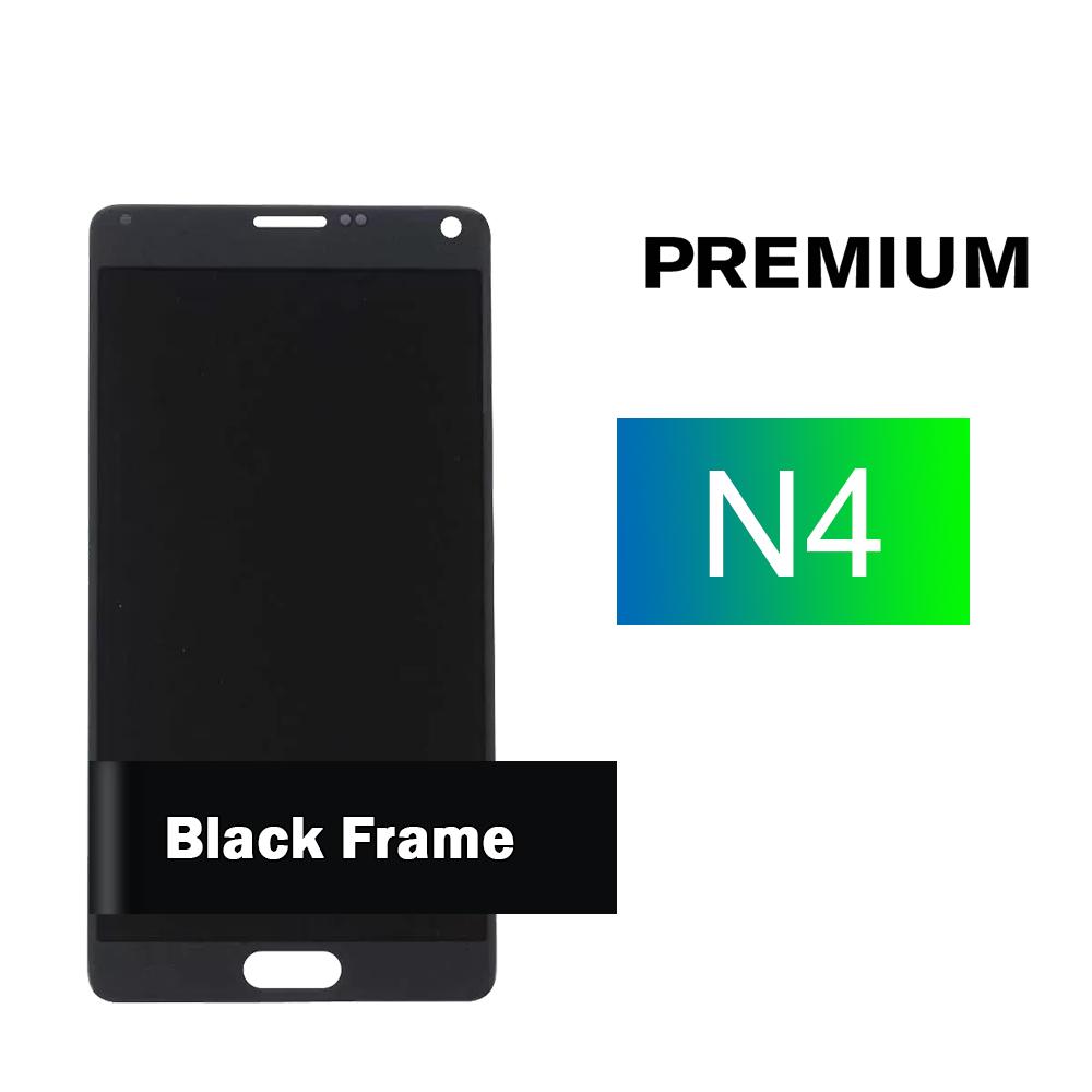 Samsung Galaxy Note 4 Black Screen Assembly (Premium)