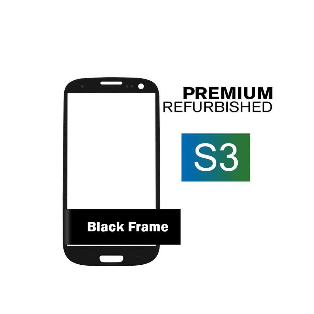 Samsung Galaxy S III Black Glass Lens Screen