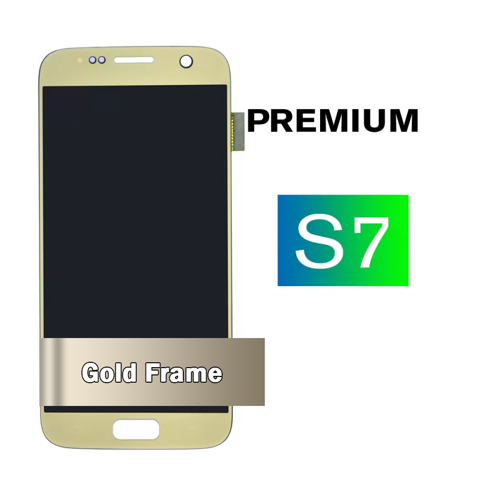 Samsung Galaxy S7 Gold LCD Screen and Digitizer