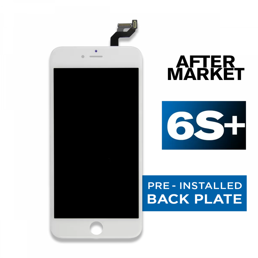 iPhone 6s Plus White LCD Screen and Digitizer (Premium Aftermarket)