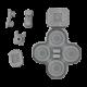 Nintendo Switch Joy Con Controller Conductive D-Pad Rubber Button Set (Left) (6 Pieces)