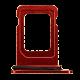 iPhone 12 Sim Card Tray (Dual) - Red