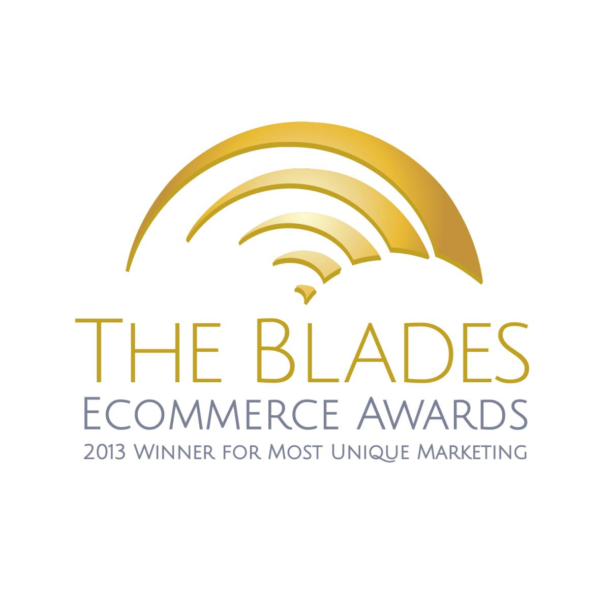 DirectFix Winner for Most Unique Marketing - Miva Blades Award 2013