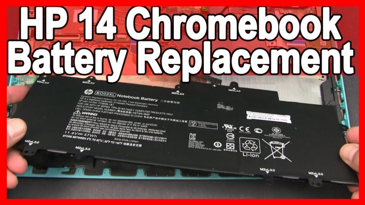HP Chromebook 14 Battery Replacement (HP 14-x010wm)